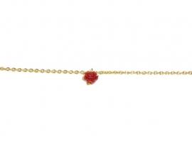Bracelet 'rose'