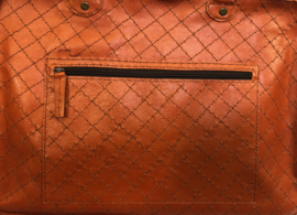 Leather travel / working bag 'Willie'