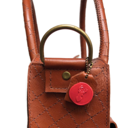 Leather working bag (suitable for laptop) 'Carrie'