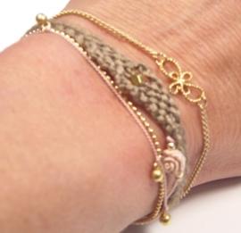 6 in one bracelet nude
