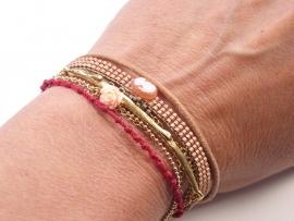 Bracelet 'one of a kind'  red