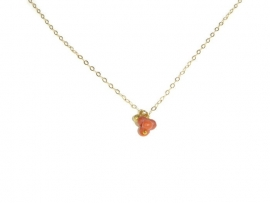 Necklace 'coral' red