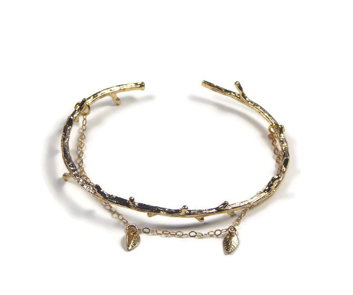 Bracelet ' twig'  double