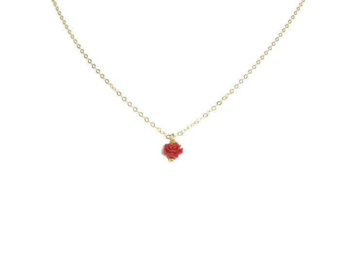 Necklace 'little rose'