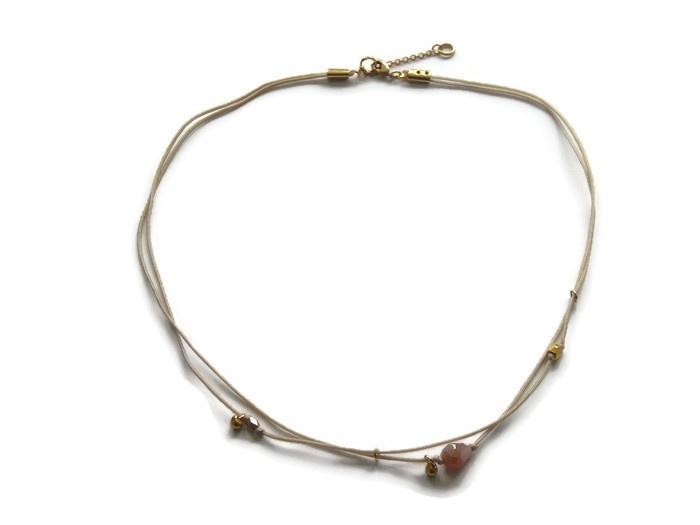 Necklace double