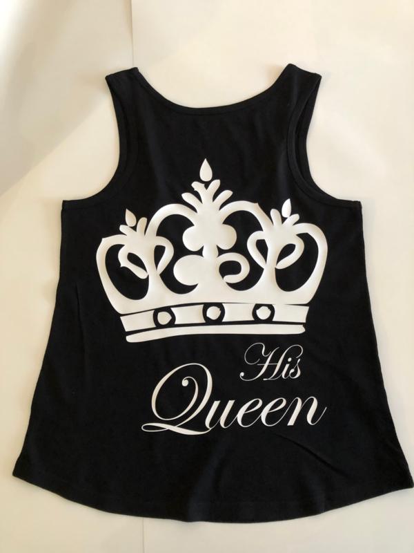 Queen T-shirt zonder mouwen