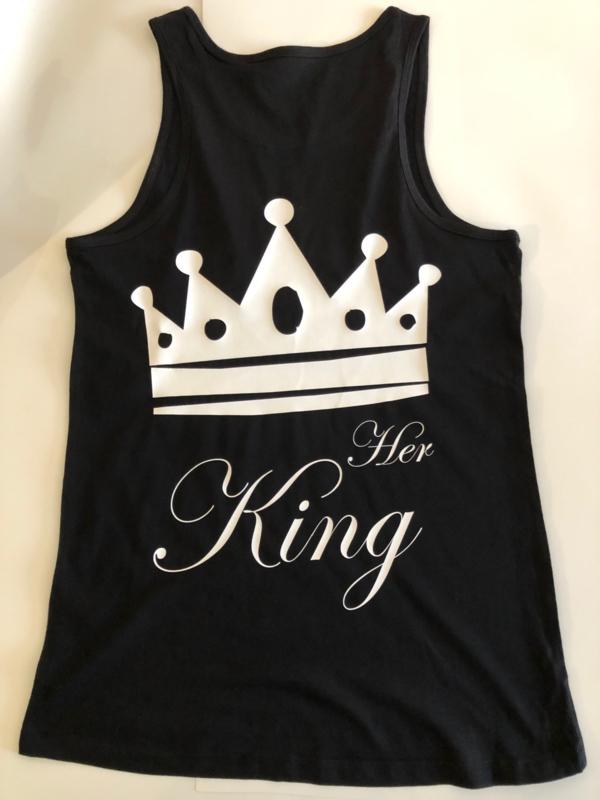 King T-shirt zonder mouwen