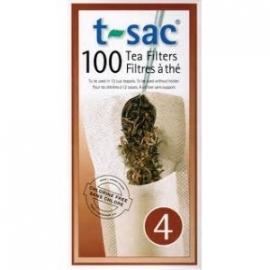 T-sac Losse Theefilters 100 stuks (grote pot) 10 stuks