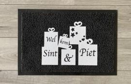 Deurmat Welkom Sint en Piet