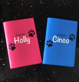 Honden/katten paspoort met naam