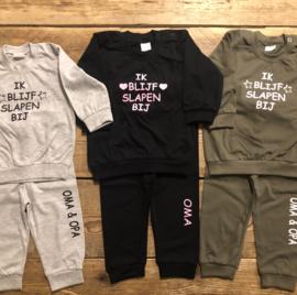 Kinderpyjama met tekst