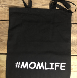Tas met de tekst #MOMLIFE