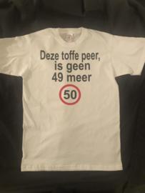 Abraham t-shirt Toffe peer