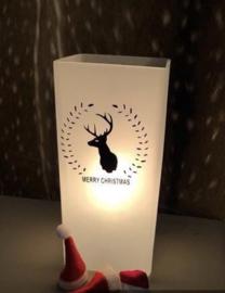 Kerstlampje rendier