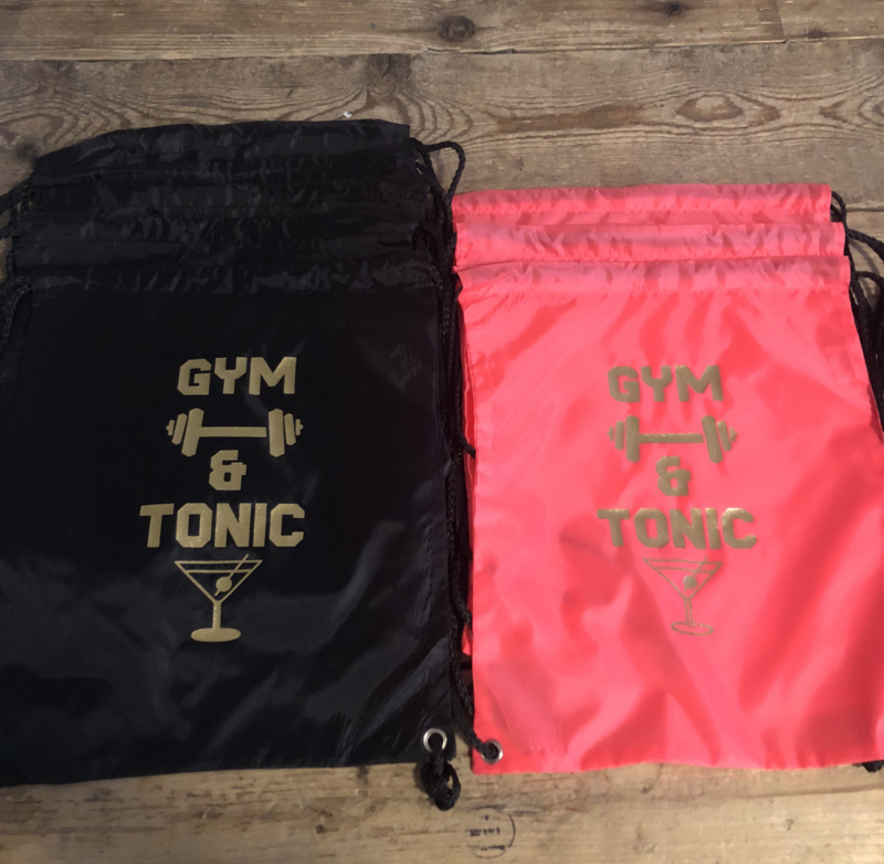 Gym tonic tas Gin Tonic