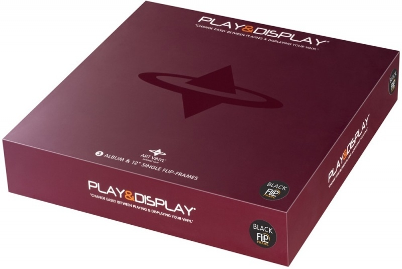 3 x Play&Display - Zwart