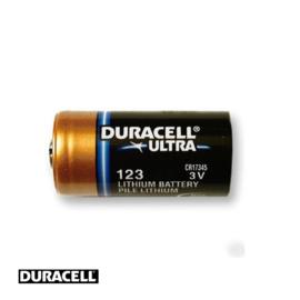 Duracell CR123 3V Lithium batterij