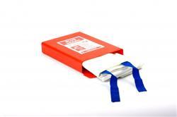 Blusdeken drielaags 120x120cm hardbox
