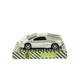 Sportauto Powerbank - Zilver