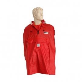 Regenkleding - poncho rood