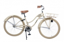 Cruiser Retro beige 26 inch Dames