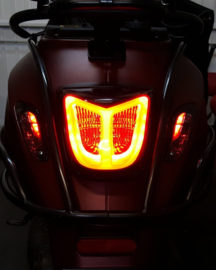 Achterlicht LED Tube Red | Vespa Primavera / Sprint