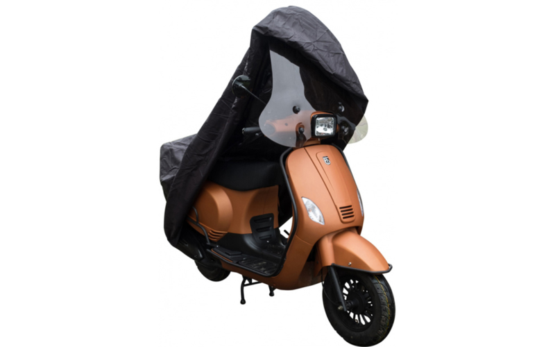 Scooterhoes DS Covers Cup met windscherm Large