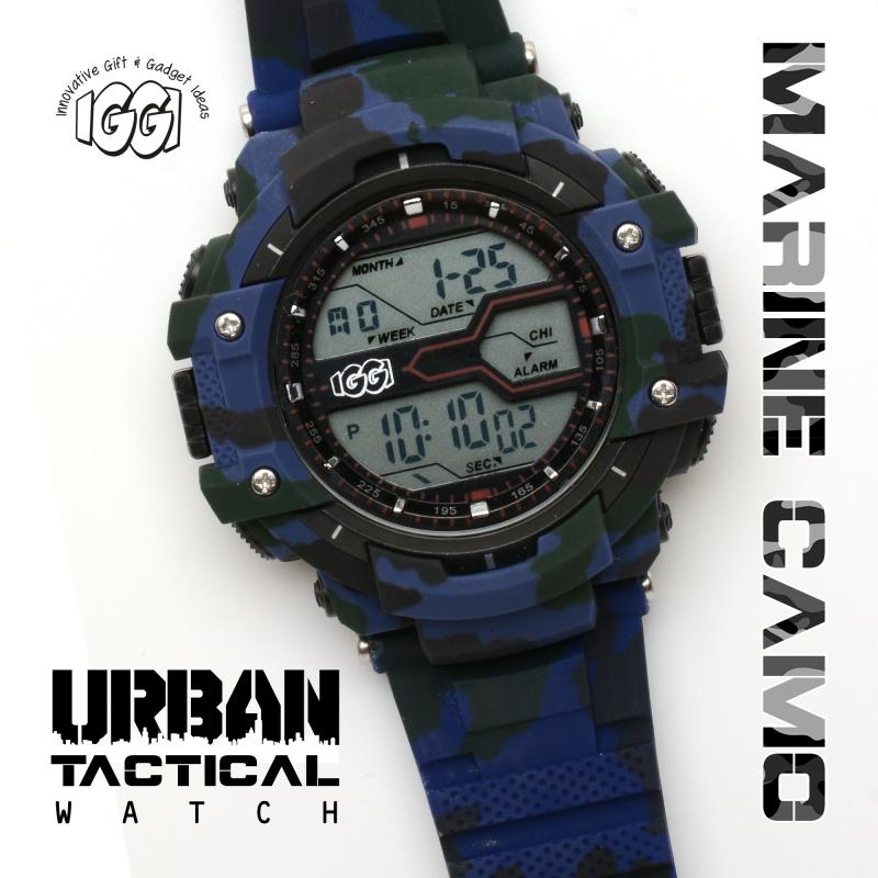 IGGI Urban Tactical Horloge - Marine Blue