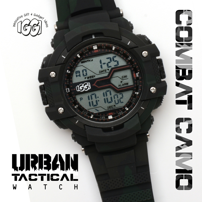 IGGI Urban Tactical Horloge - Combat Green