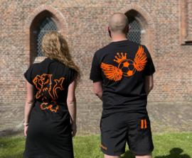 EK 2021 shirt - zwart