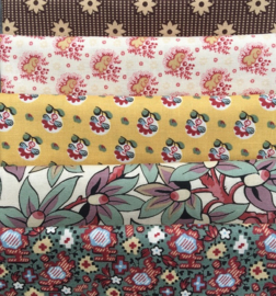 Fat Eighth's Chintz Patchwork ca 1820 -1
