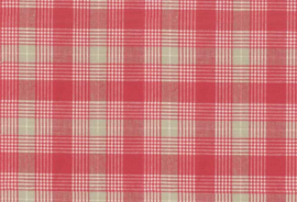 w986300 beige/red plaid