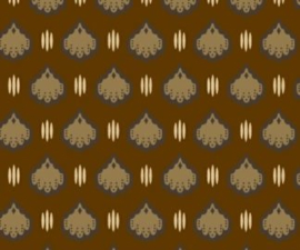 8151-0167 hearts brown