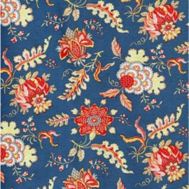 Dutch Heritage 1022 Pomegranate Royal Blue