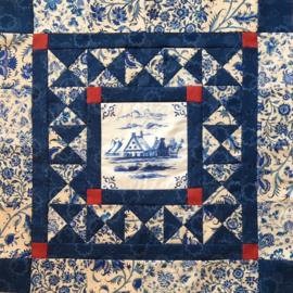 Dutch Tile MINI quilt