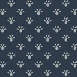Bathwick by Karen Styles, leaf blue 8150-0169