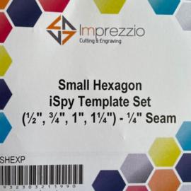 Template set hexagon