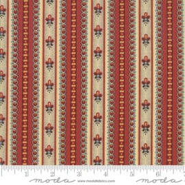 Susanna´s Scraps 31581-12 stripe red