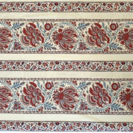 Dutch Heritage Gujarat randstof / Gujarat border fabric