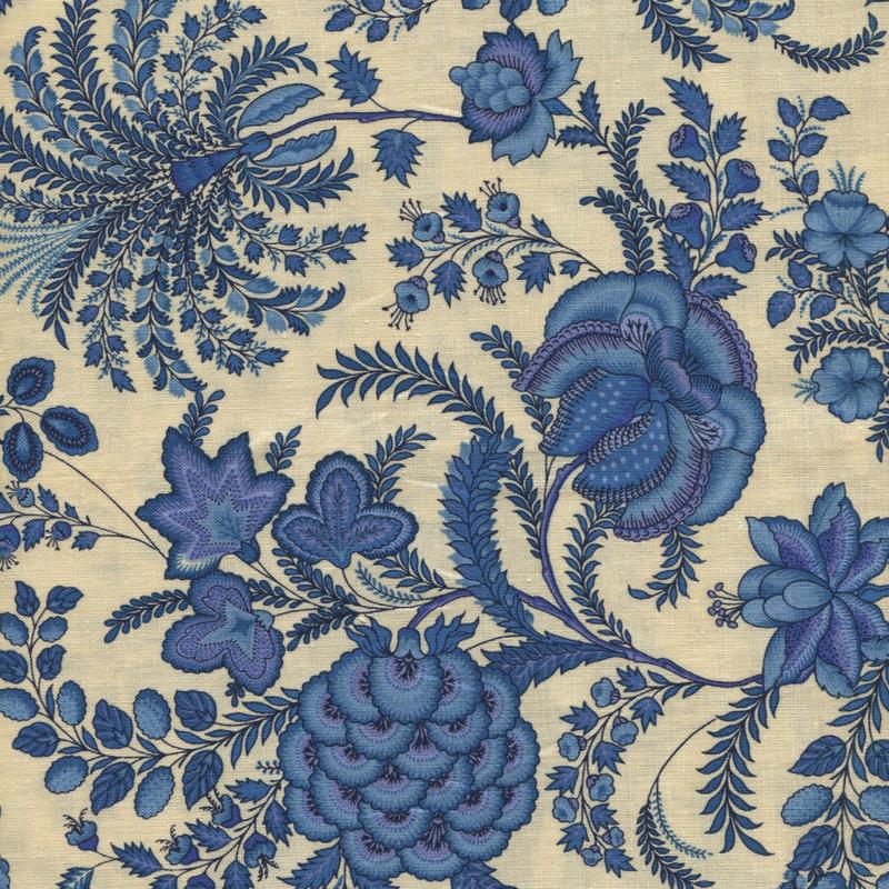 China Blue Indian Rhapsody