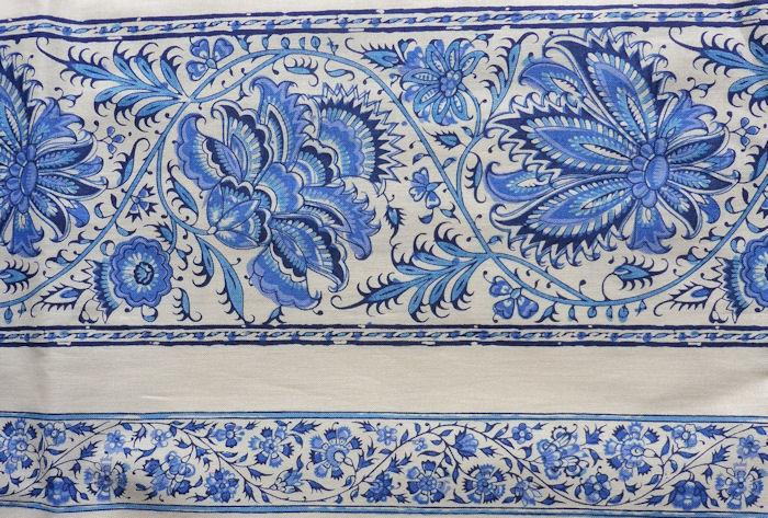 Dutch Heritage China Blue 1019 border print 2½M