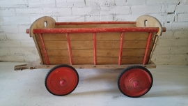 Kinder bolderwagen - en echt oudje (afhalen in showroom).