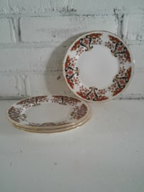 4 schoteltjes van Fine Bone China