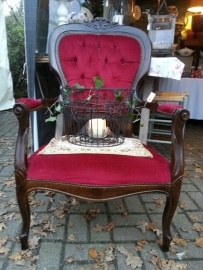 Barok Queen Anne fauteuil (afhalen in showroom).