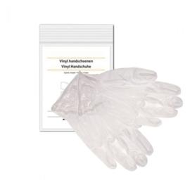 Handschoenen Vinyl per paar