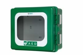 ARKY AED buitenkast met alarm en verwarming