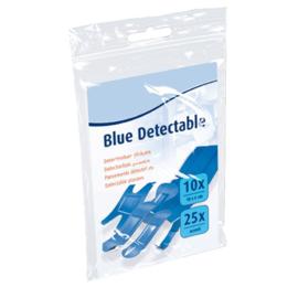 Pleisters HACCP  Detectie blauw Assortiment