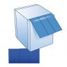 Wondpleister PE detecteerbaar HACCP blauw op rol 6cm x 5m