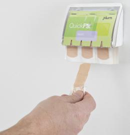 Pleisterautomaat Plum QuickFix UNO Transparant