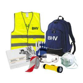 BHV rugtas gevuld met complete uitrusting